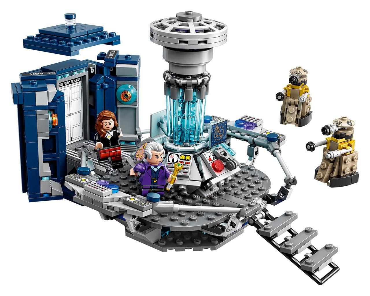 Doctor Who kommer som LEGO
