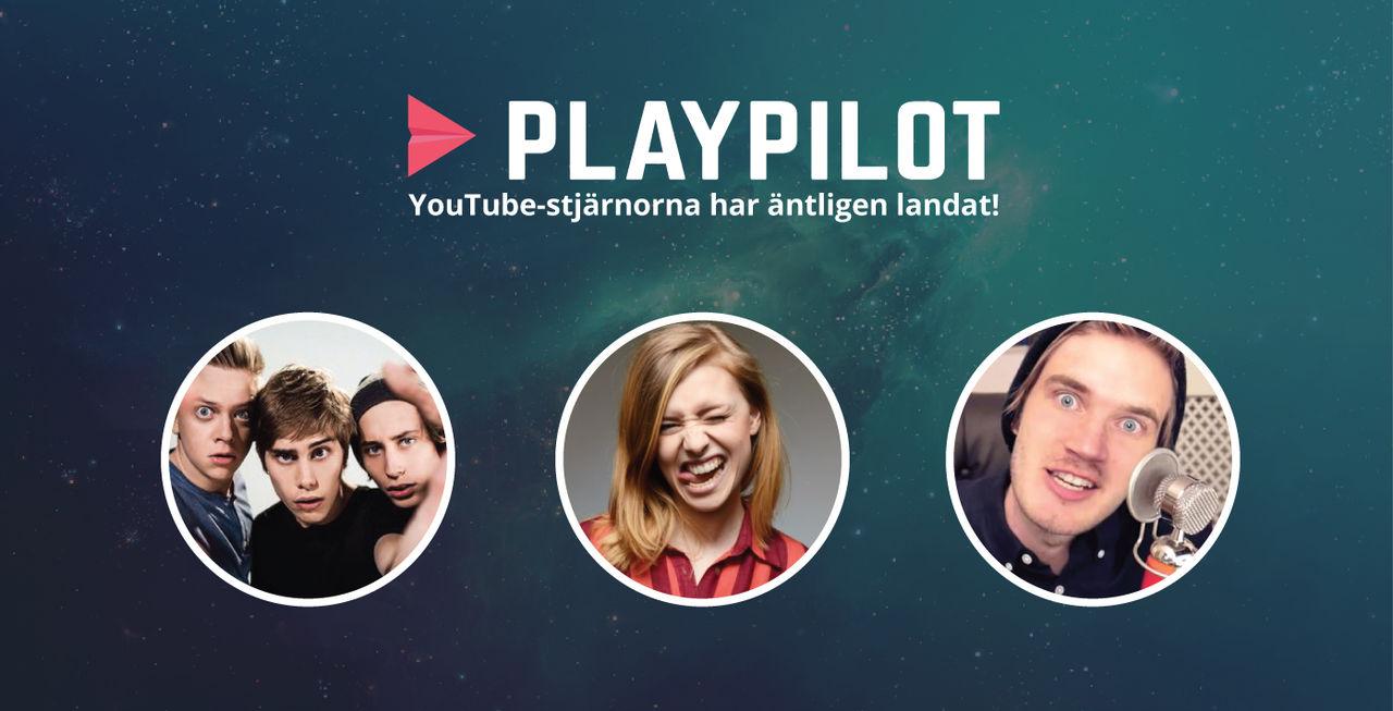 Playpilot lägger in Youtube-kanaler på sin plattform