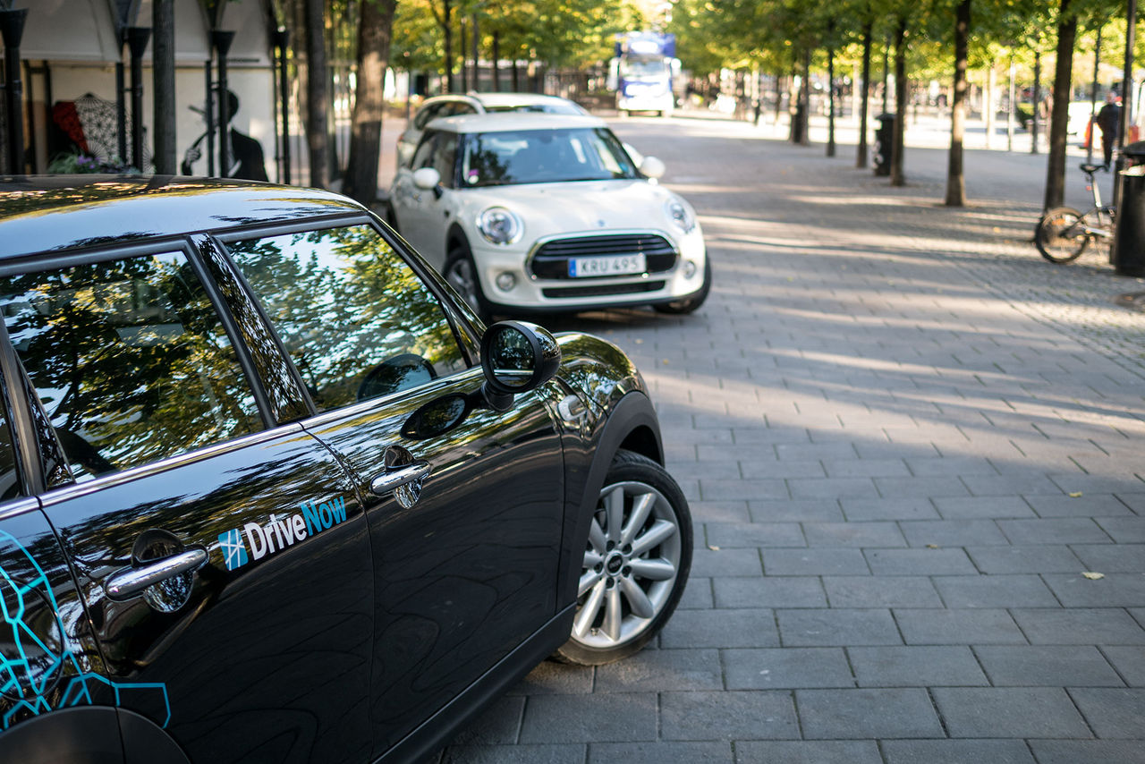 Nu kommer DriveNow till Stockholm