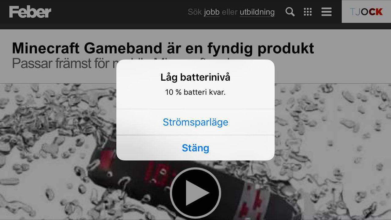 Har du batteriproblem med iOS 9?