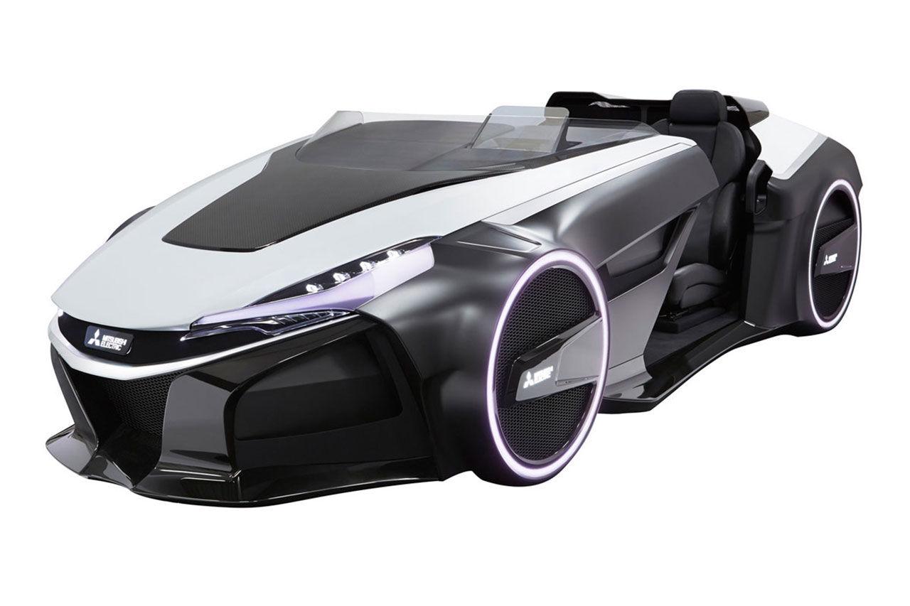 Ny version på Mitsubishis elbil Emirai