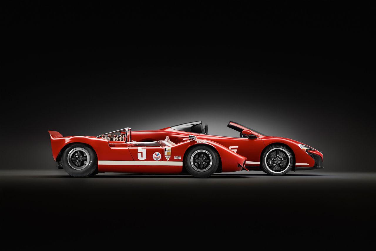 McLaren hyllar racingserien Can-Am