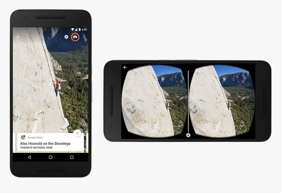 Google Street View får stöd för VR