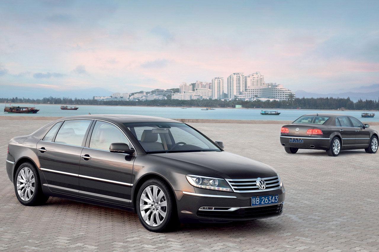 Nästa Volkswagen Phaeton blir helt eldriven