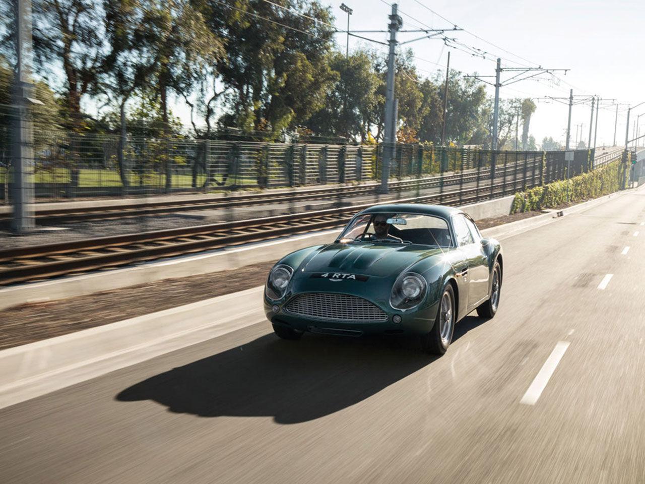 En Aston Martin DB4 Zagato till auktion