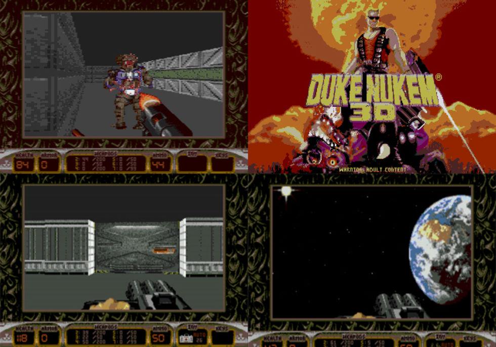 Duke Nukem 3D släpps till Sega Mega Drive