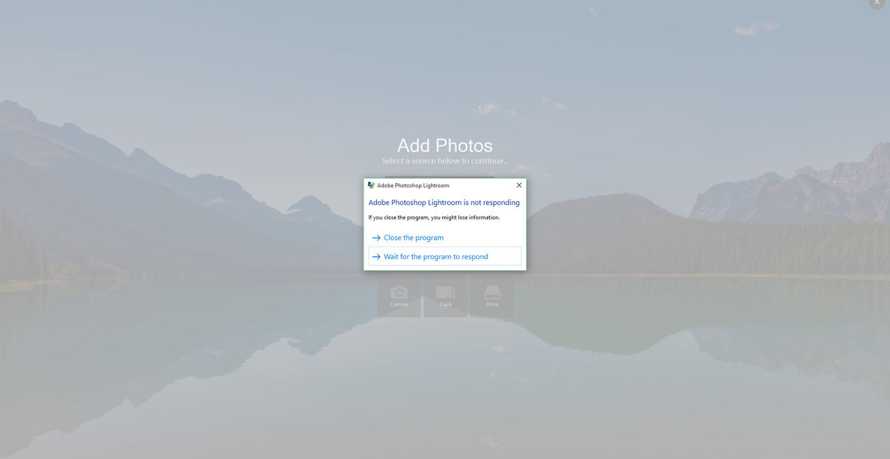 Adobe ändrar tillbaka importen för Lightroom efter kritik