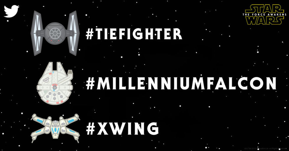 Nu kan man används Star Wars-emojis på Twitter