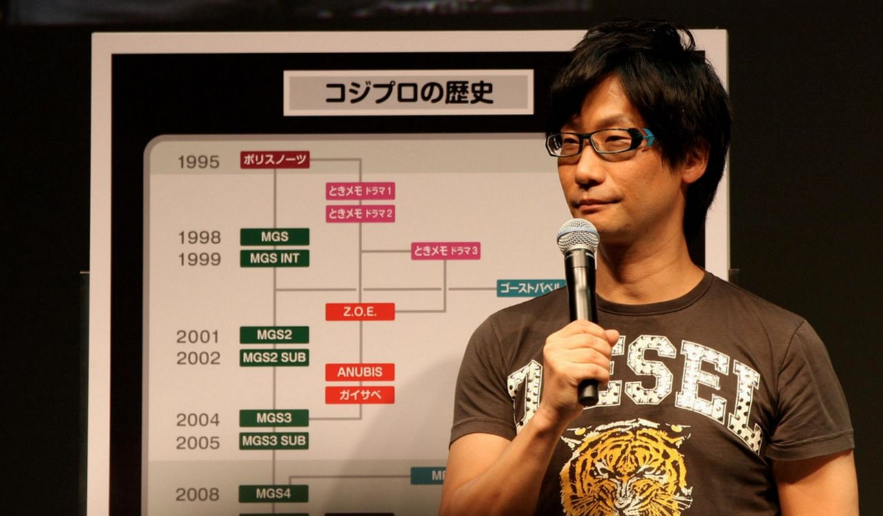 Hideo Kojima har lämnat Konami