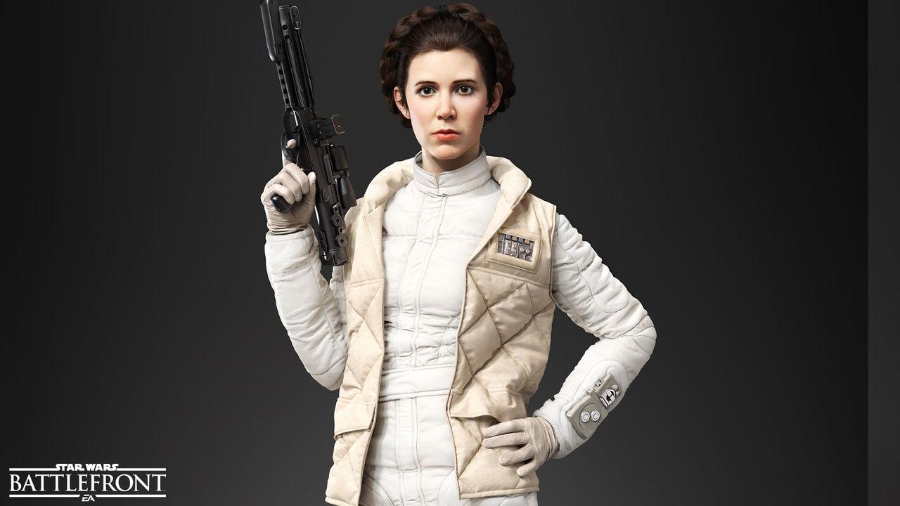 Leia, Han Solo och Palpatine blir spelabara i Battlefront