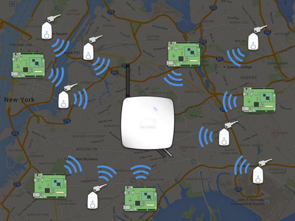 The Things Network vill bygga ett globalt nätverk för IoT