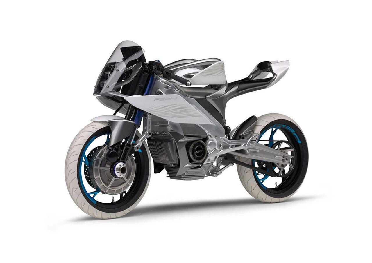 Eldrivet motorcykelkoncept från Yamaha