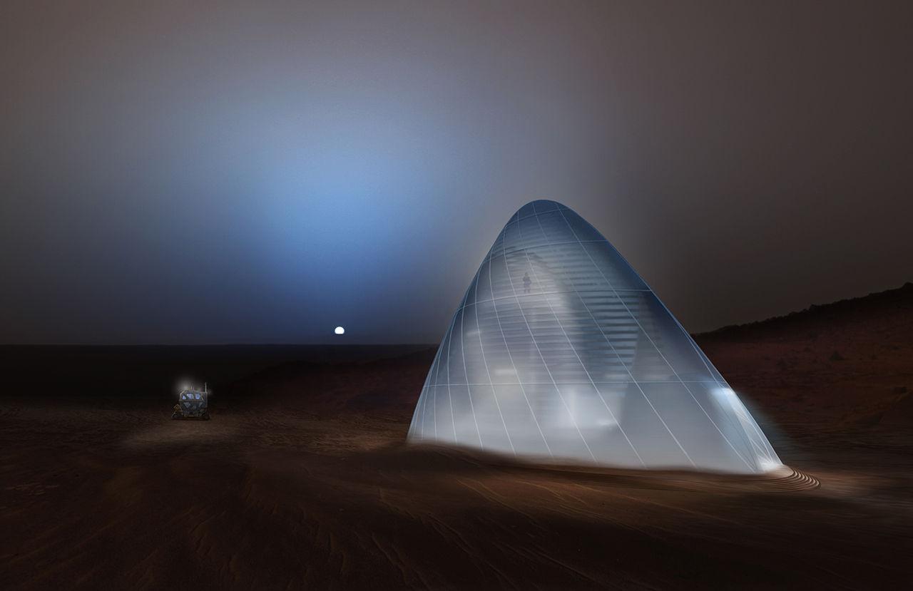 NASA utser vinnare i marsboendetävling