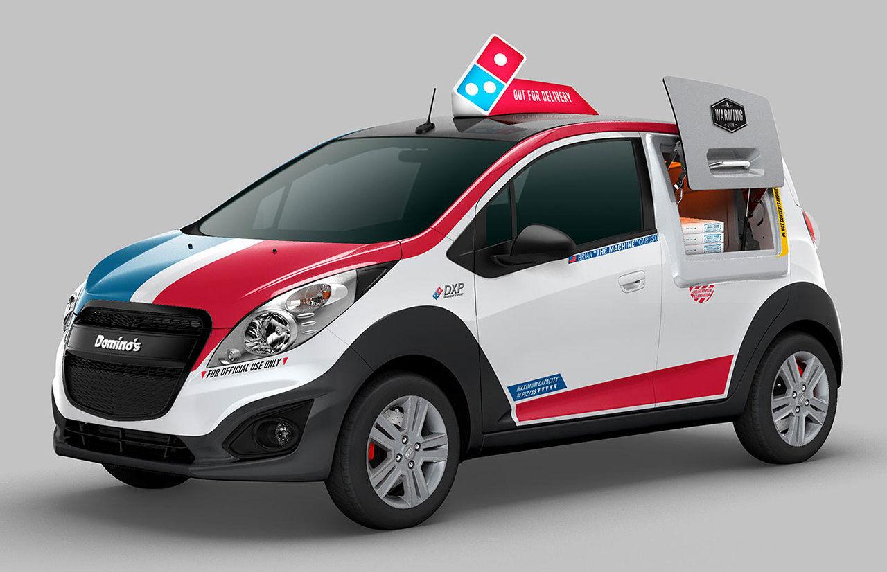 Domino's har en ny bil för att leverera pizza