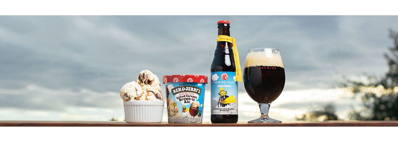 Ben & Jerry's öl kommer även som glass