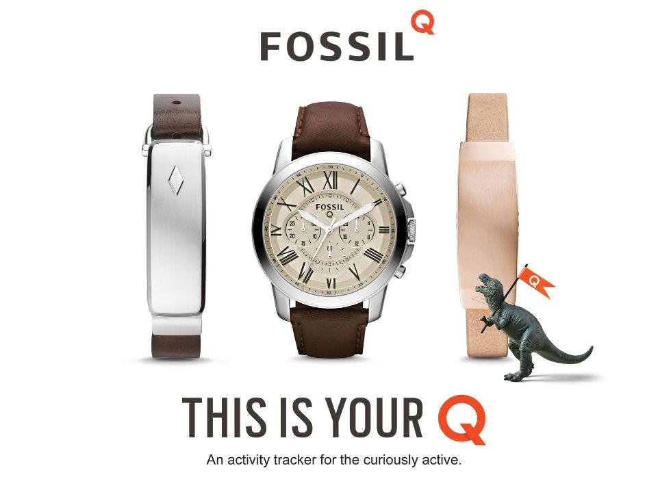 Fossil lanserar smartklocka och aktivitetsarmband