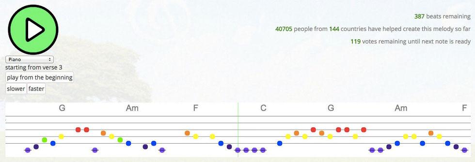 Skapa musik tillsammans med Crowdsound.net