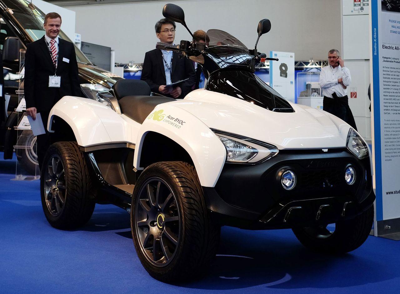 Acer visar upp el-fyrhjulingen X Terran