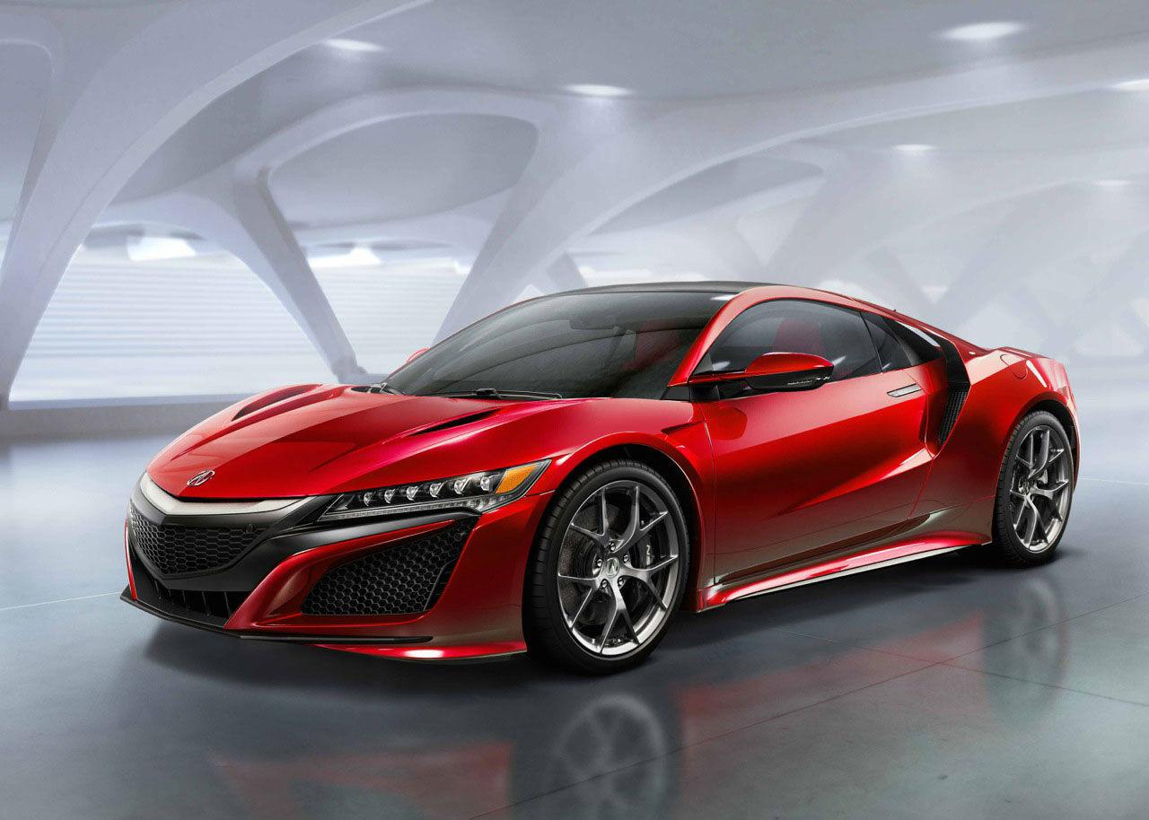 Autoblog testar nya Acura NSX