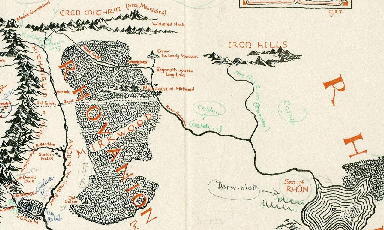 Karta över Midgård hittad