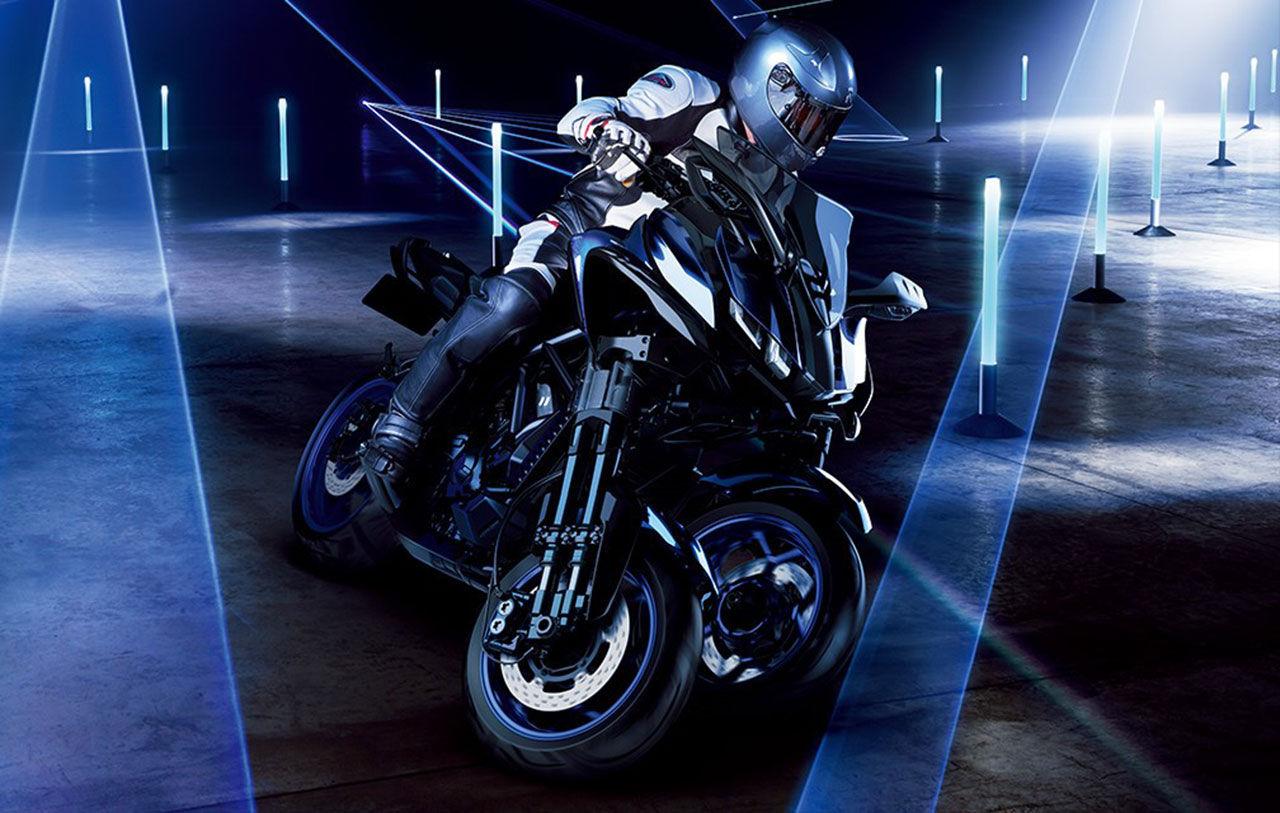 Yamaha visar ny trehjuling