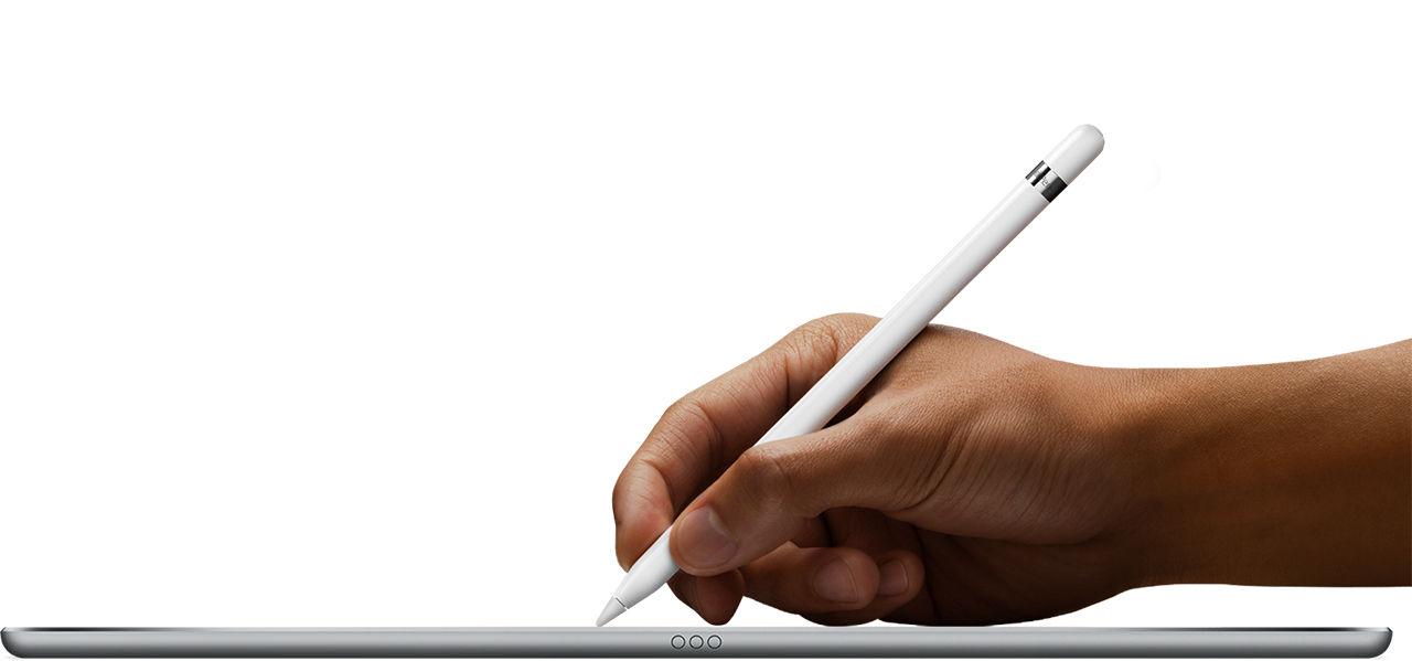 Apple skickar med adapter med iPad Pro-penna
