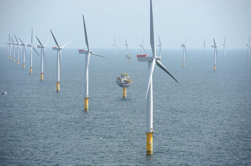 Världens största vindkraftspark ska byggas i Storbritannien