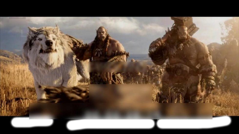 Några läckta bilder från World of Warcraft-filmen
