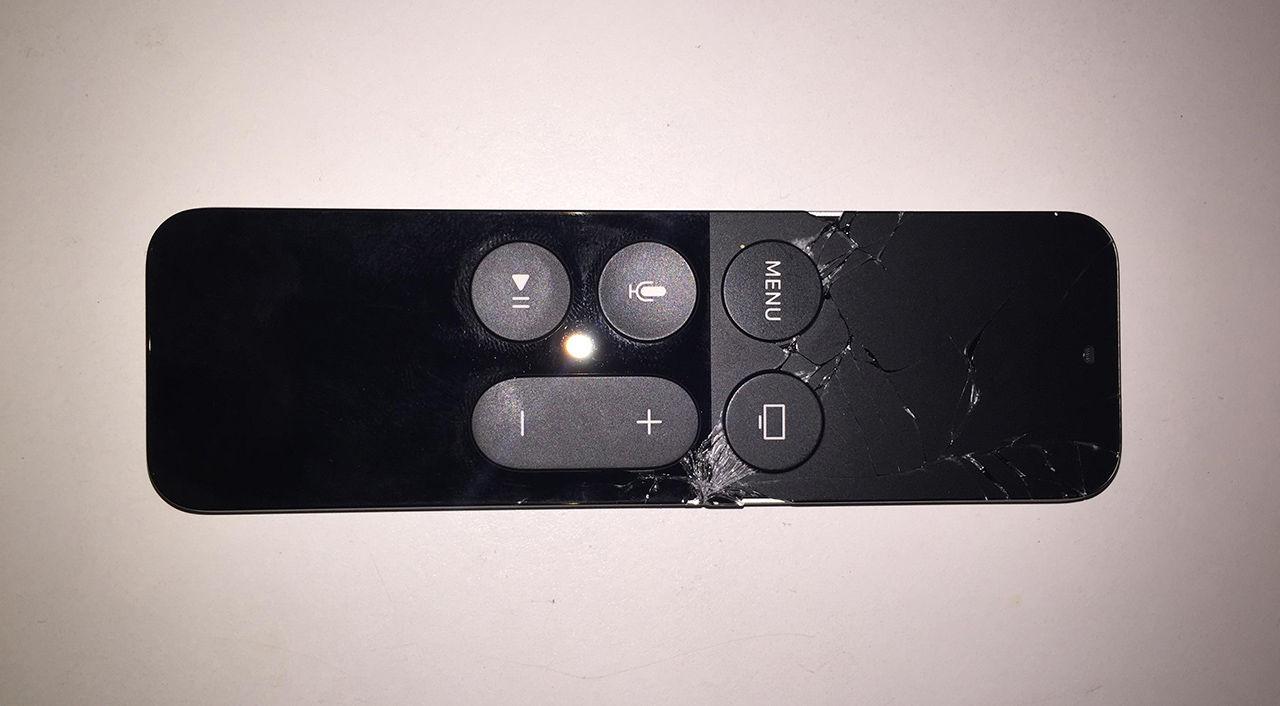 Apple TV-kontrollen verkar vara lite ömtålig