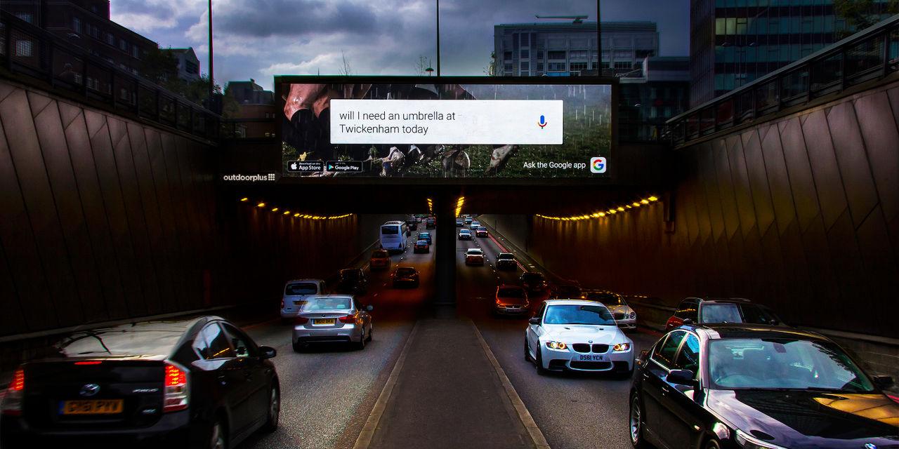 Google kör interaktiva annonser i London