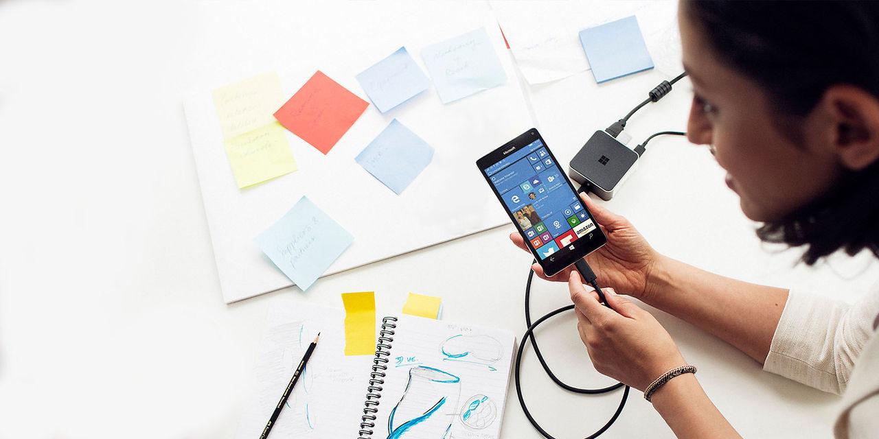 Microsoft bjuder på dockningsstation vid köp av Lumia 950
