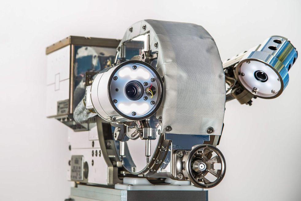 NASA tar fram robotögon