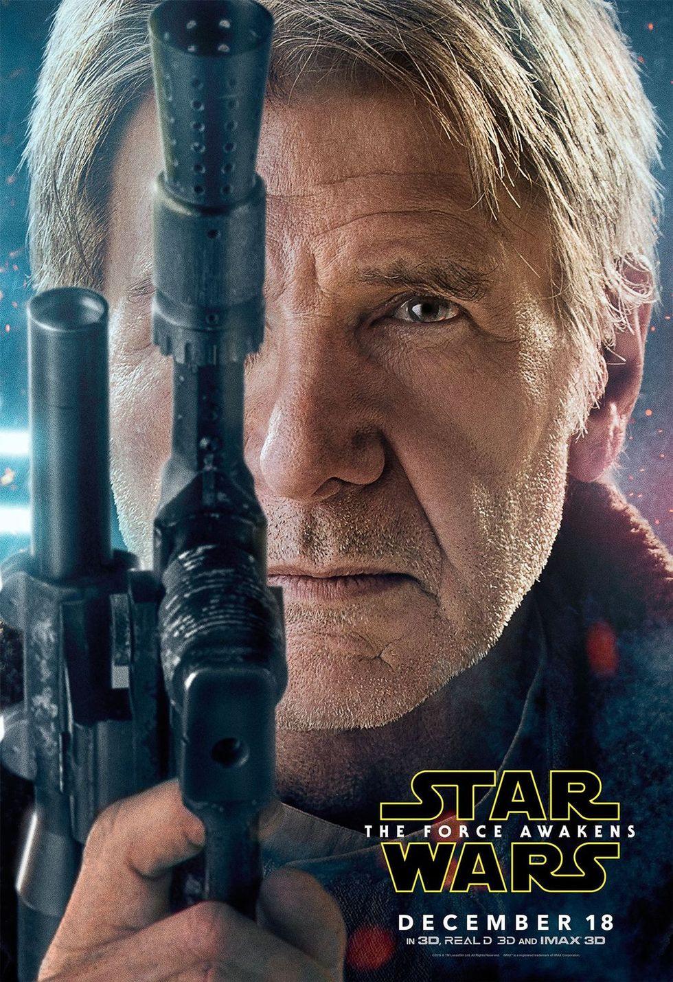 Nya affischer för Star Wars: The Force Awakens