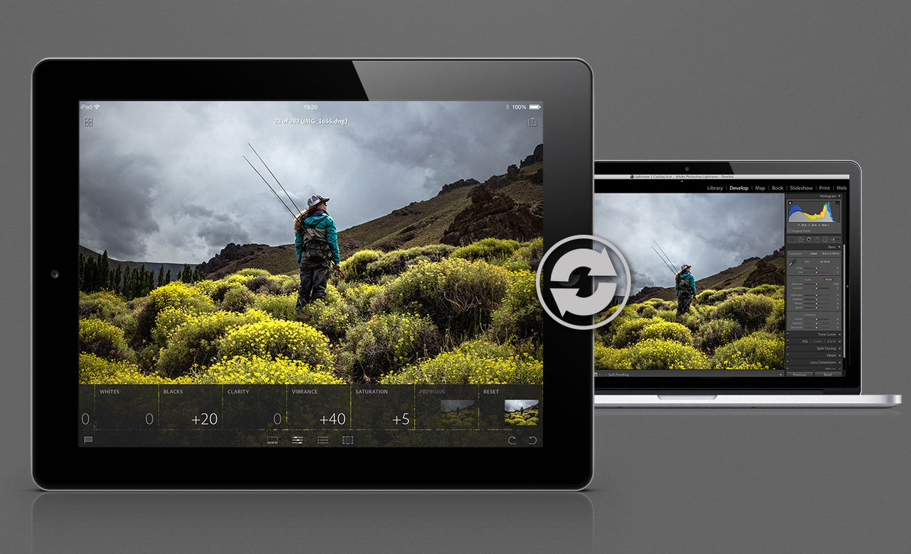 Lightroom-appen får egen kamera