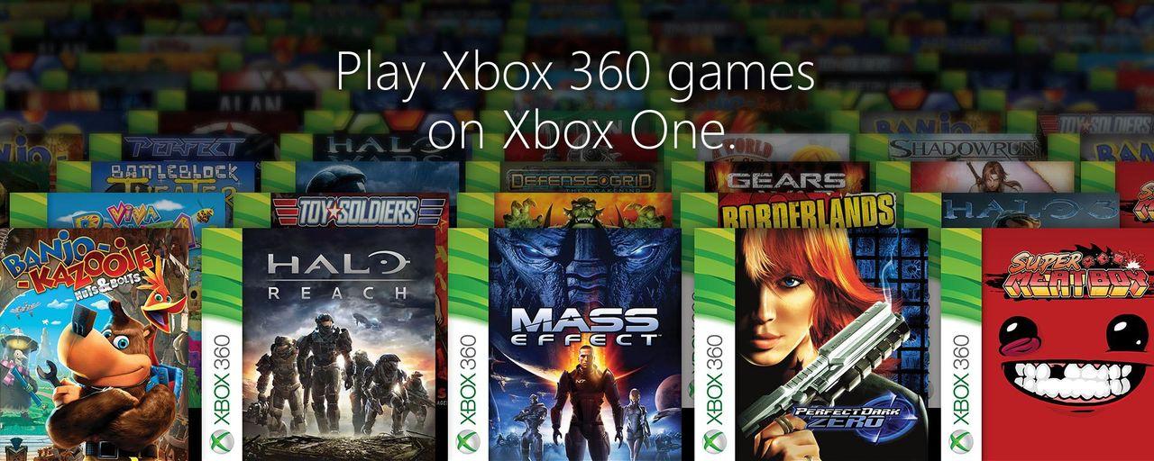 Här är alla 360-spelen du kan spela på Xbox One