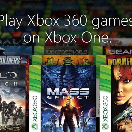spela xbox360 på xbox one