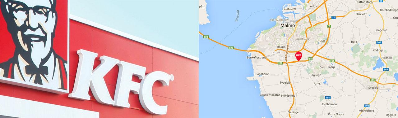 KFC Malmö öppnar den 27 november