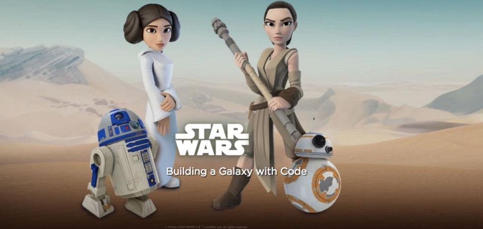 Code.org börjar samarbeta med Star Wars