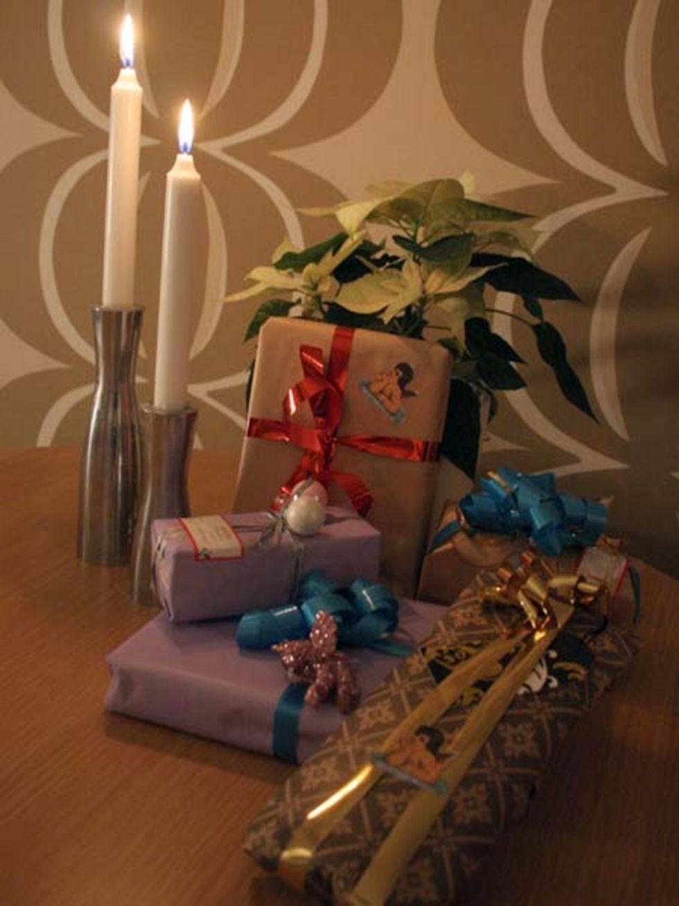 Gör extra fina paket i jul