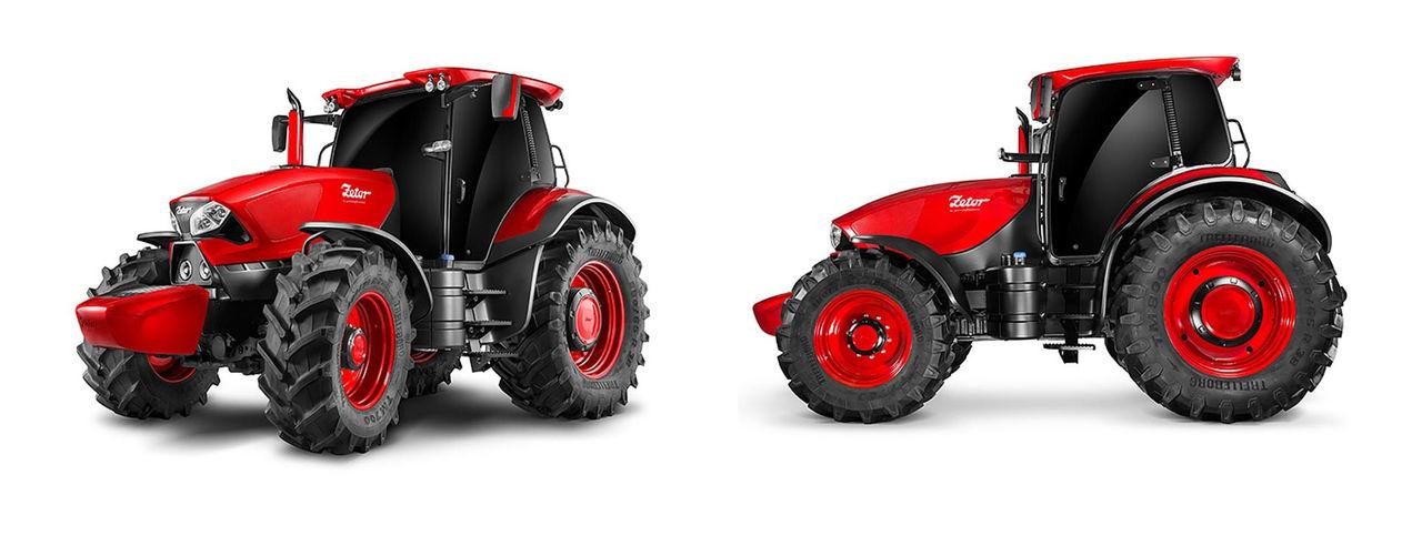 Traktorkoncept från Pininfarina och Zetor