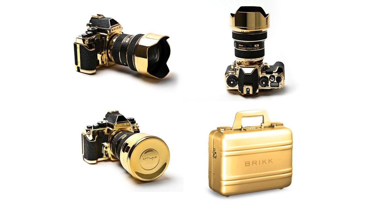 Guldig Nikon DF kostar 56 000 dollar