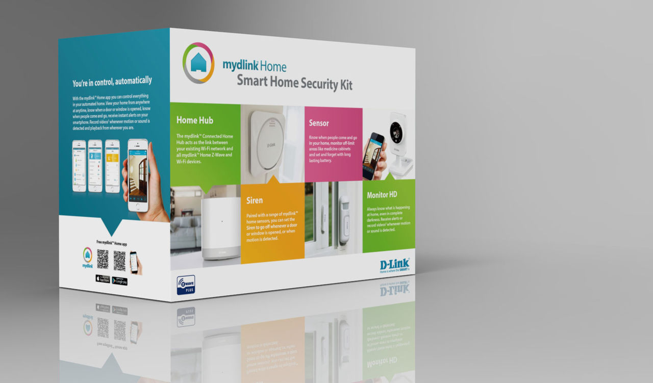 Nya smarthome-grejer från D-Link