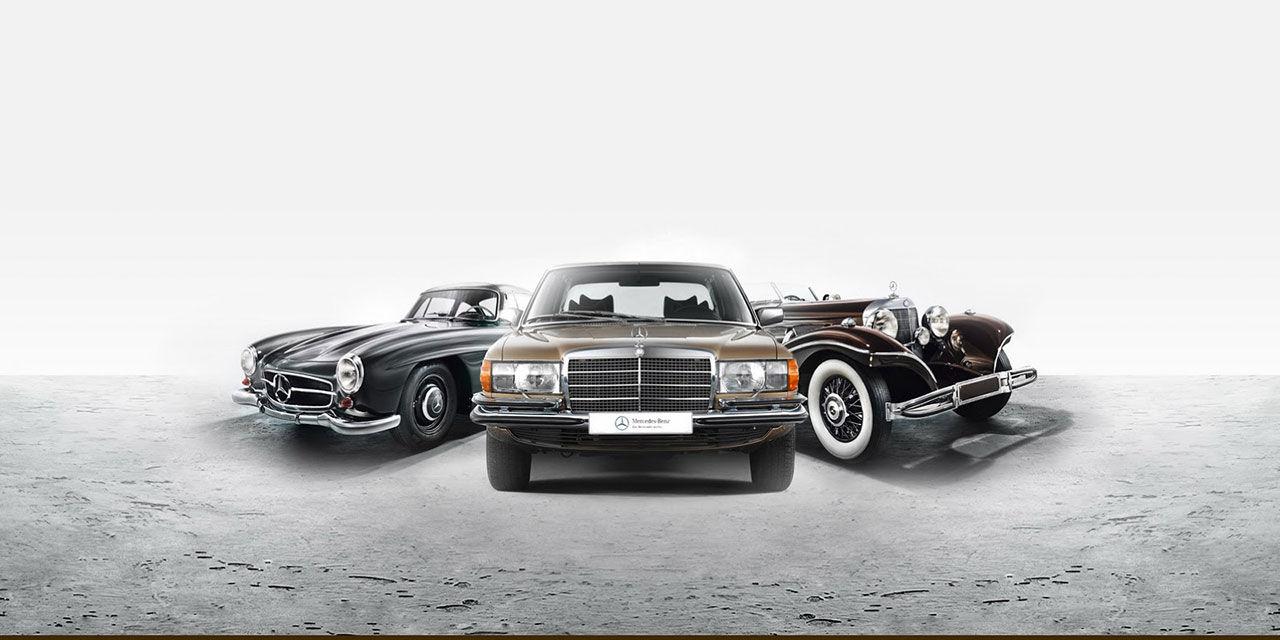 Mercedes Museum säljer av gamla klassiker