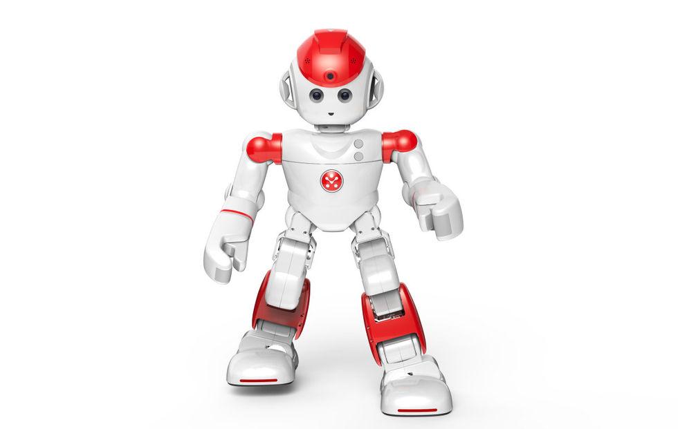 Alpha2 är en sällskapsrobot för hela familjen