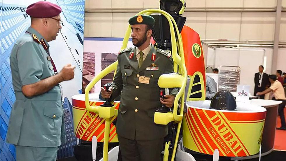 Dubais brandmän får jetpacks