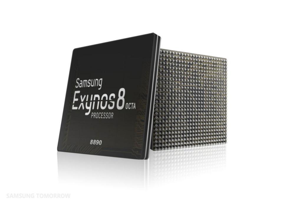 Samsung visar upp nya Exynos 8 Octa 8890