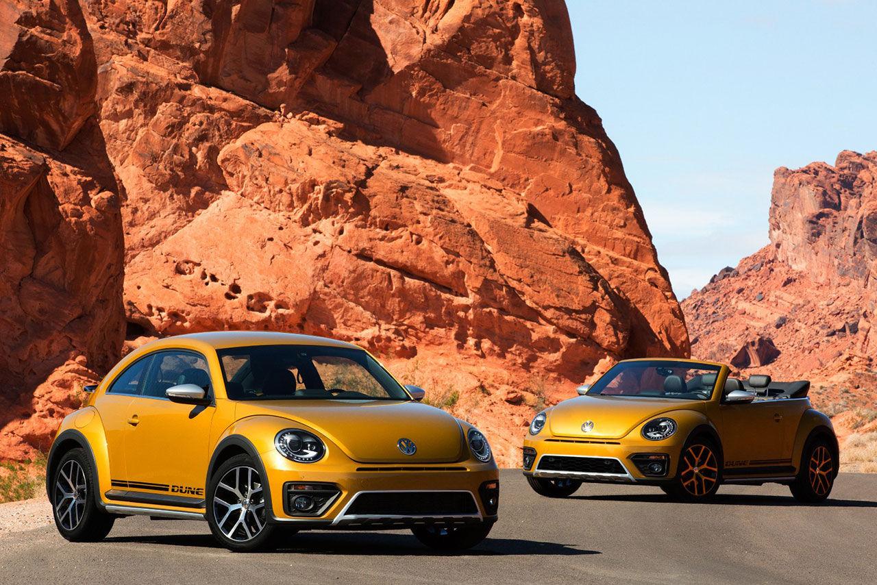 Volkswagen Beetle Dune i produktionskläder