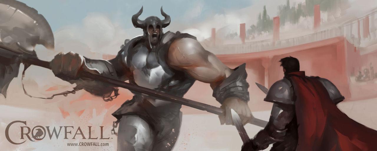 Ny karaktär presenterad för MMO-spelet Crowfall