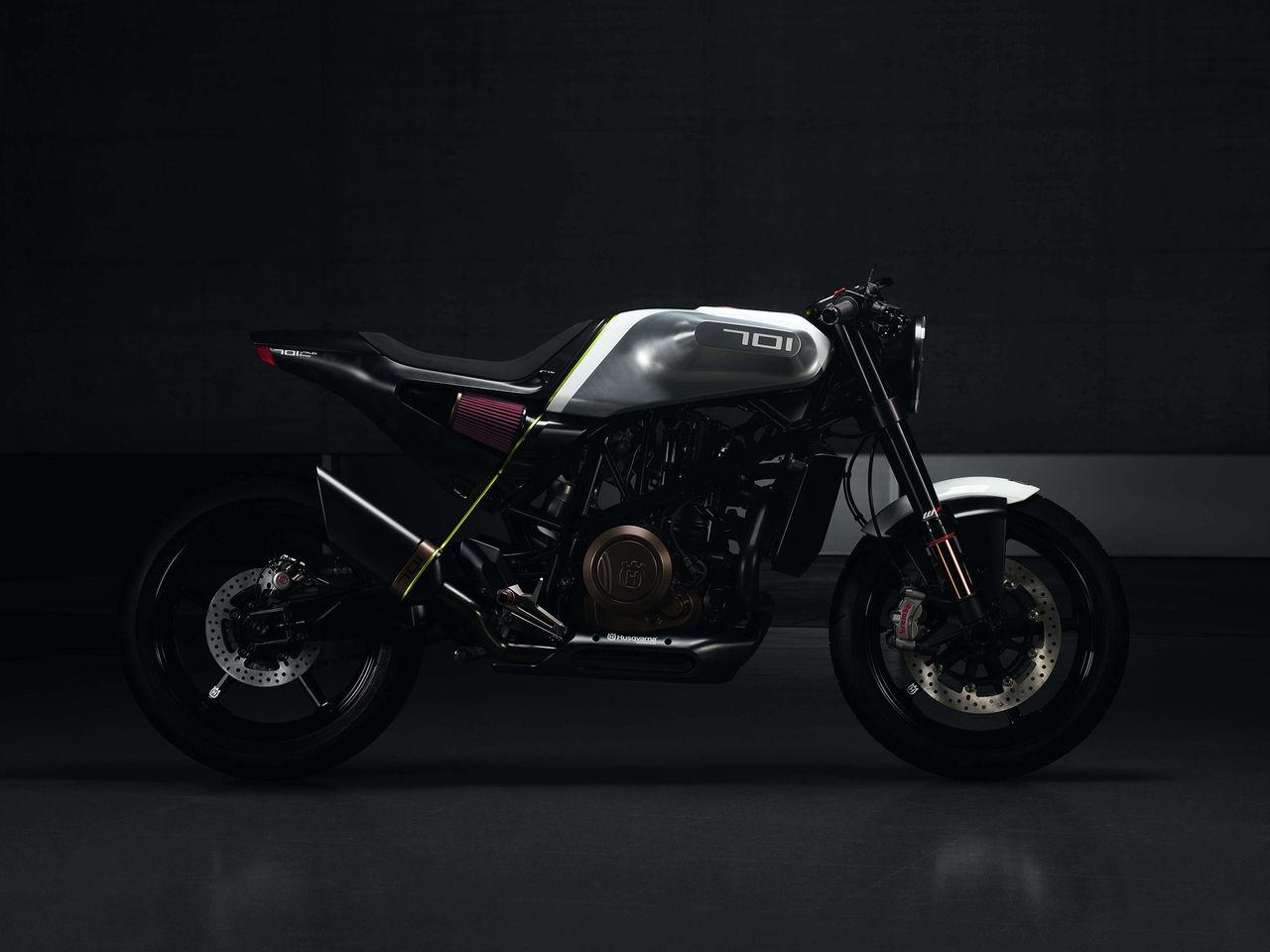 Husqvarna visar Vitpilen 701 Concept