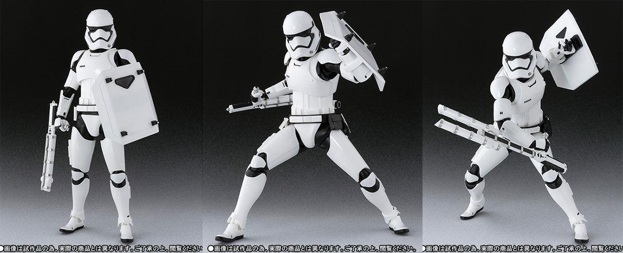 Actionfigur på nya Stormtroopern